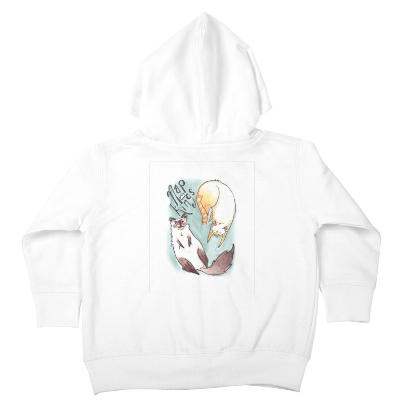 Nap Kings Kids Toddler Zip-Up Hoody by Toe Beans Cat Cafe Online Shop
