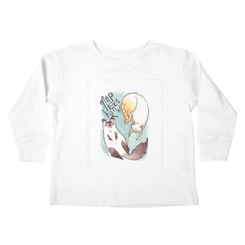 Nap Kings Kids Toddler Longsleeve T-Shirt by Toe Beans Cat Cafe Online Shop