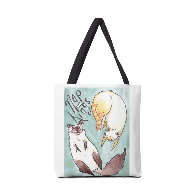 Nap Kings Accessories Tote Bag Bag by Toe Beans Cat Cafe Online Shop