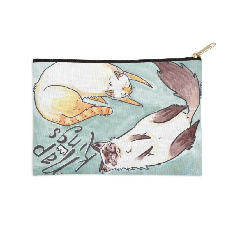 Nap Kings Accessories Zip Pouch by Toe Beans Cat Cafe Online Shop