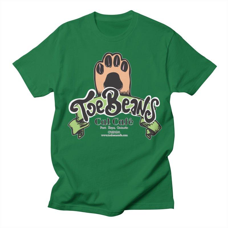Toe Beans Cat Cafe Original Logo Men's T-Shirt by Toe Beans Cat Cafe Online Shop