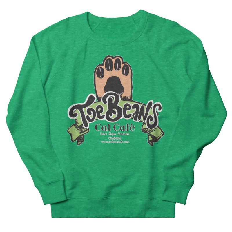 Toe Beans Cat Cafe Original Logo Men's Sweatshirt by Toe Beans Cat Cafe Online Shop