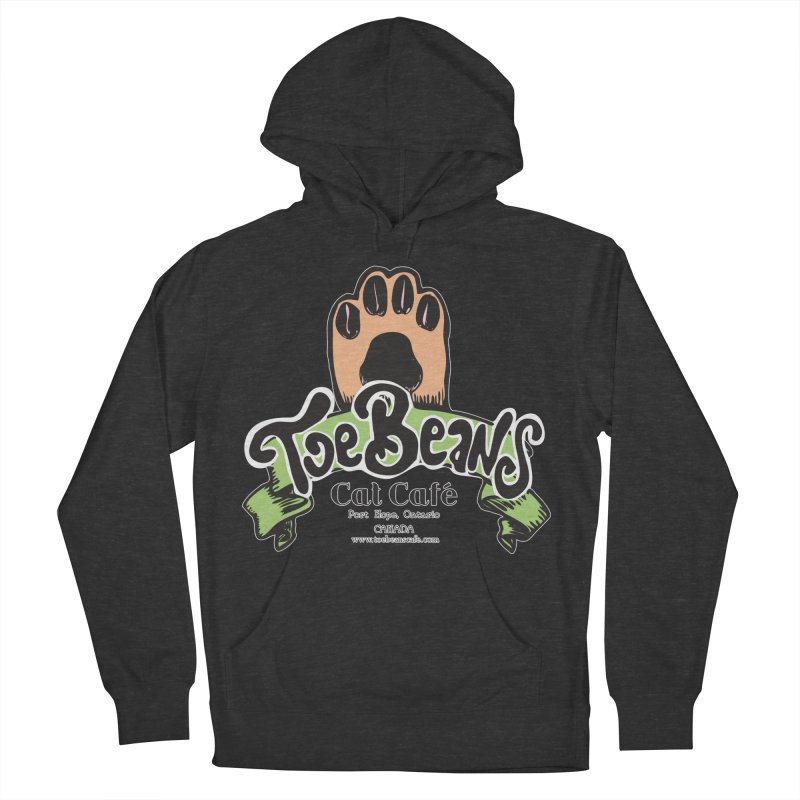 Toe Beans Cat Cafe Original Logo Women's French Terry Pullover Hoody by Toe Beans Cat Cafe Online Shop
