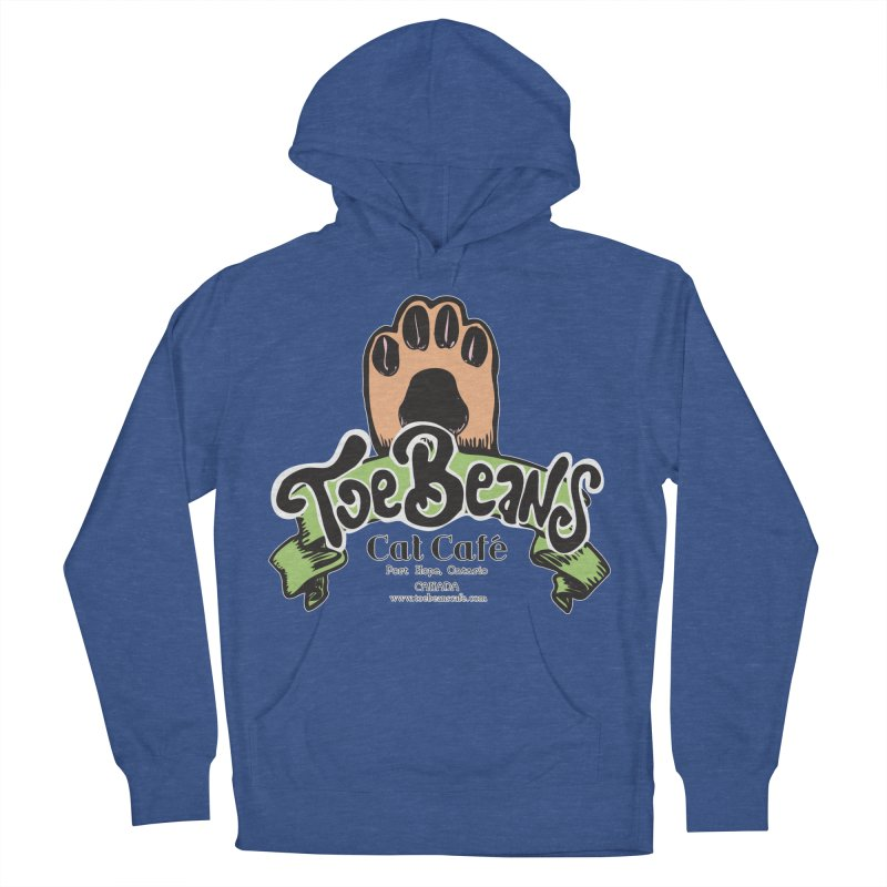 Toe Beans Cat Cafe Original Logo Men's French Terry Pullover Hoody by Toe Beans Cat Cafe Online Shop