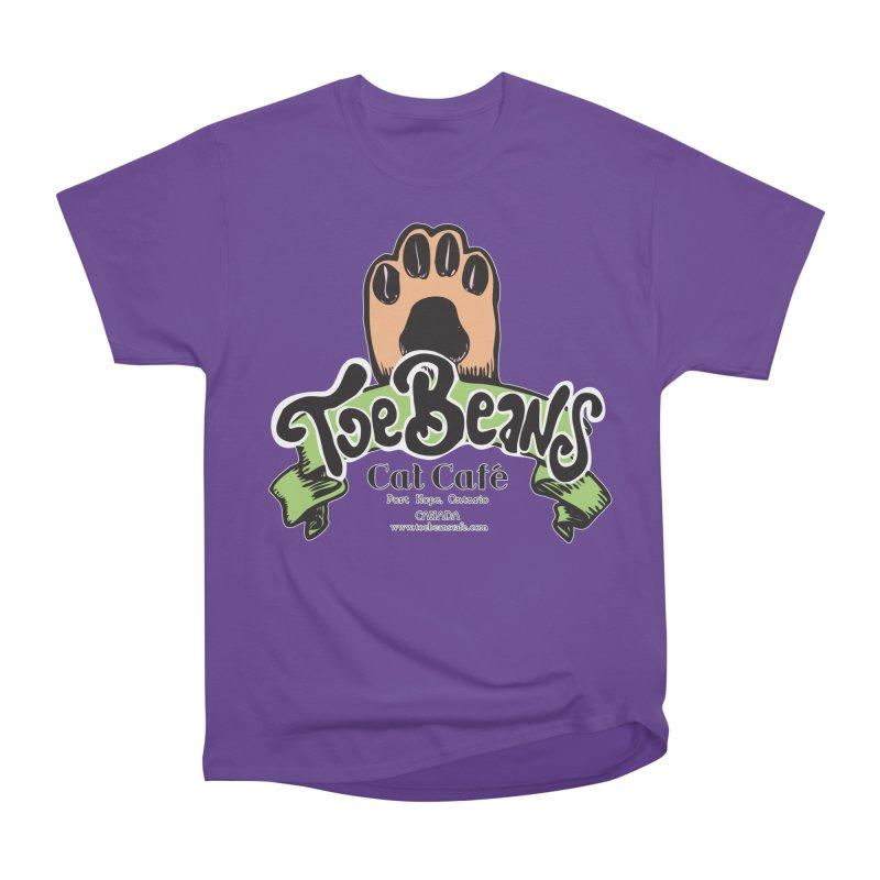 Toe Beans Cat Cafe Original Logo Women's Classic Unisex T-Shirt by Toe Beans Cat Cafe Online Shop