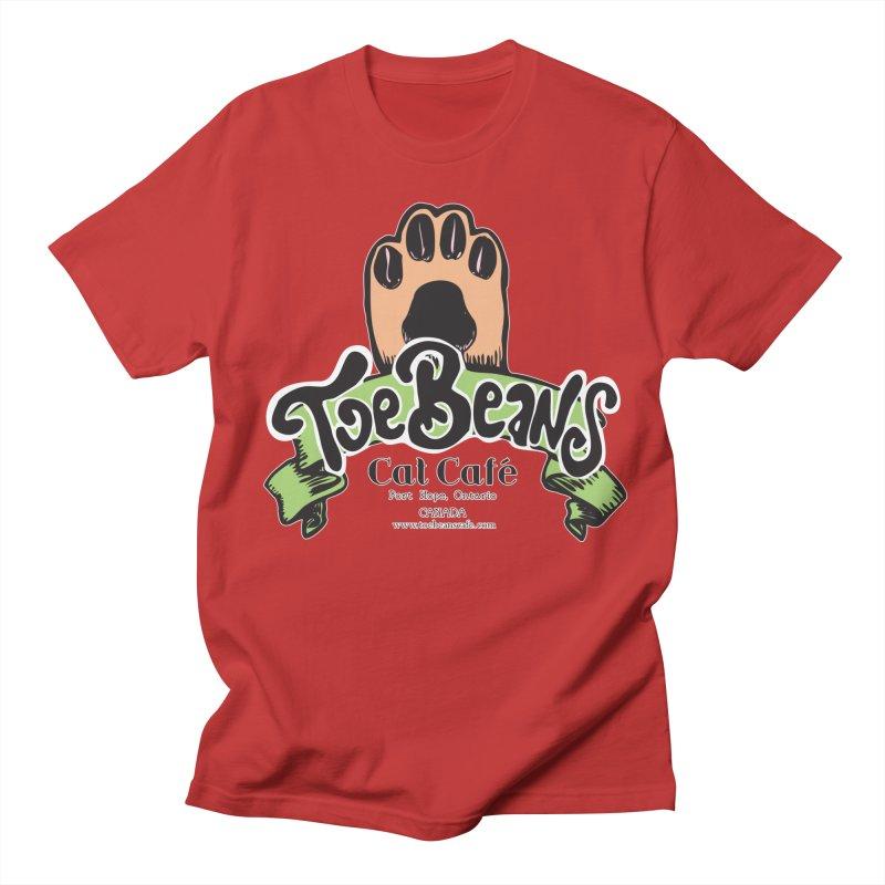 Toe Beans Cat Cafe Original Logo Men's Regular T-Shirt by Toe Beans Cat Cafe Online Shop