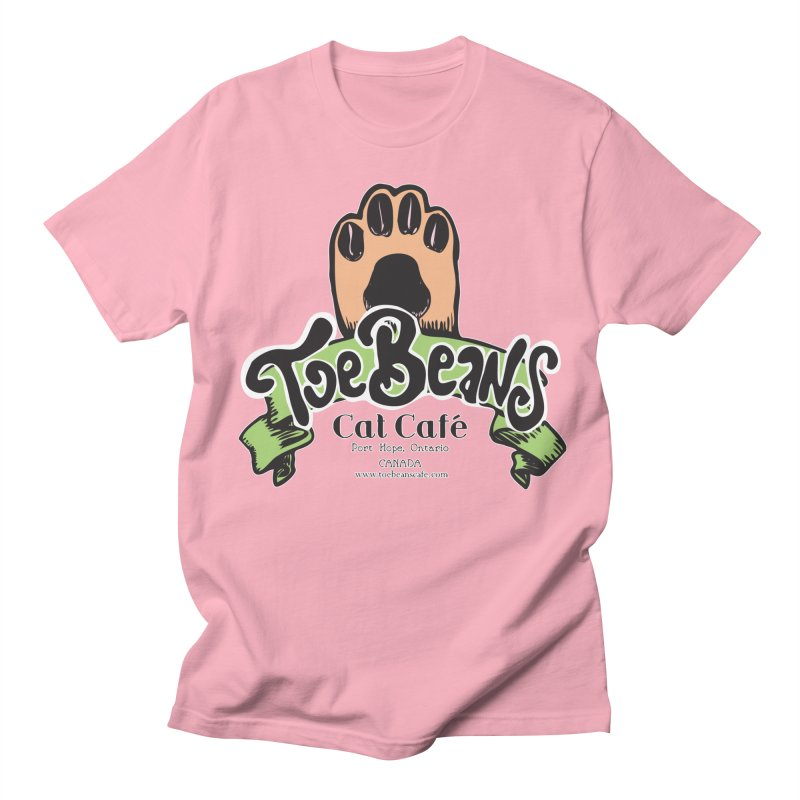 Toe Beans Cat Cafe Original Logo Men's Regular T-Shirt by Toe Beans Cat Cafe Online Shop