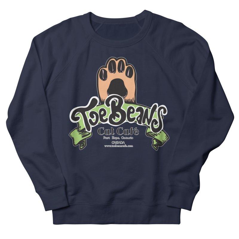 Toe Beans Cat Cafe Original Logo Women's French Terry Sweatshirt by Toe Beans Cat Cafe Online Shop