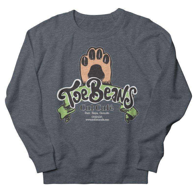 Toe Beans Cat Cafe Original Logo Men's Sweatshirt by Toe Beans Cat Cafe Online Shop