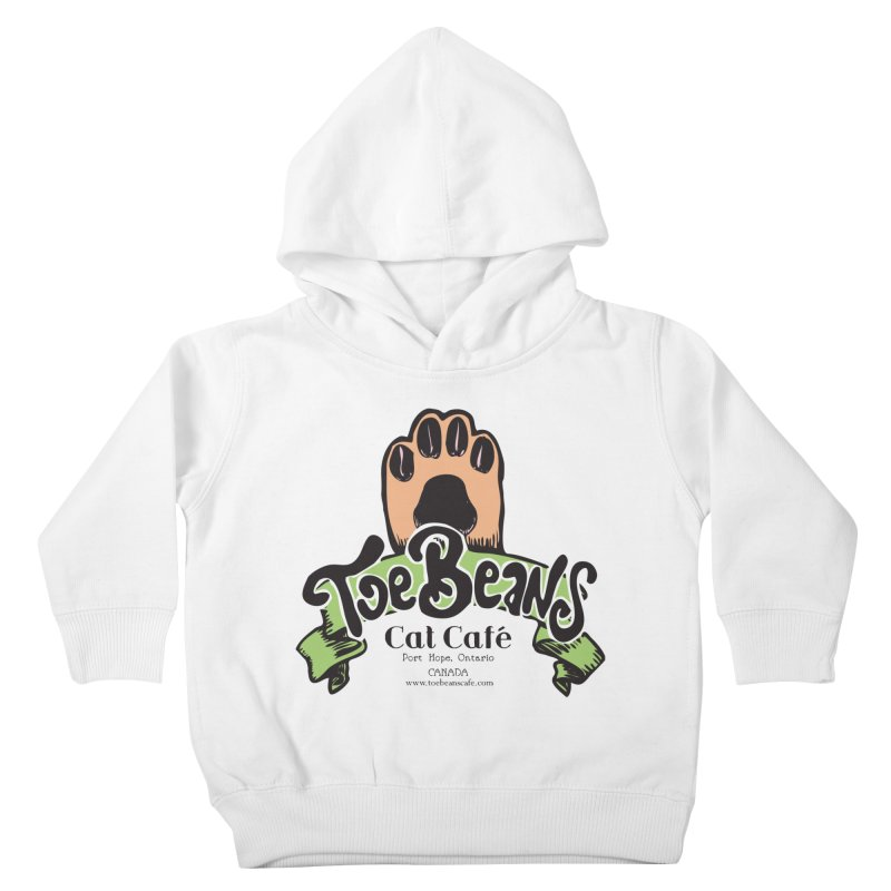 Toe Beans Cat Cafe Original Logo Kids Toddler Pullover Hoody by Toe Beans Cat Cafe Online Shop