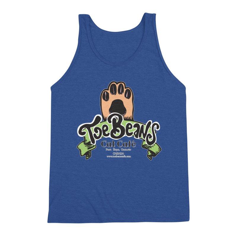 Toe Beans Cat Cafe Original Logo Men's Tank by Toe Beans Cat Cafe Online Shop