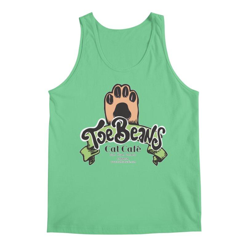 Toe Beans Cat Cafe Original Logo Men's Regular Tank by Toe Beans Cat Cafe Online Shop