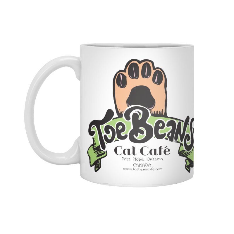 Toe Beans Cat Cafe Original Logo Accessories Standard Mug by Toe Beans Cat Cafe Online Shop