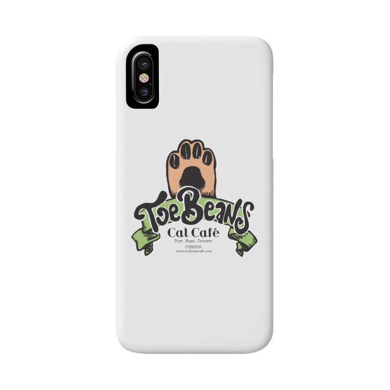 Toe Beans Cat Cafe Original Logo Accessories Phone Case by Toe Beans Cat Cafe Online Shop