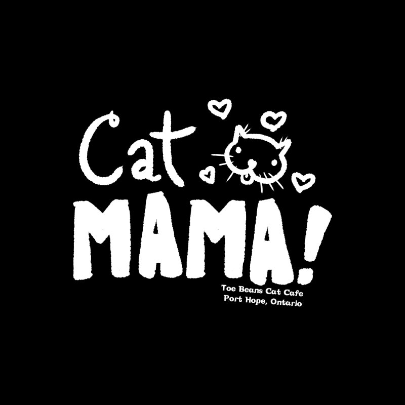 Cat Mama! Men's Baseball Triblend T-Shirt by Toe Beans Cat Cafe Online Shop