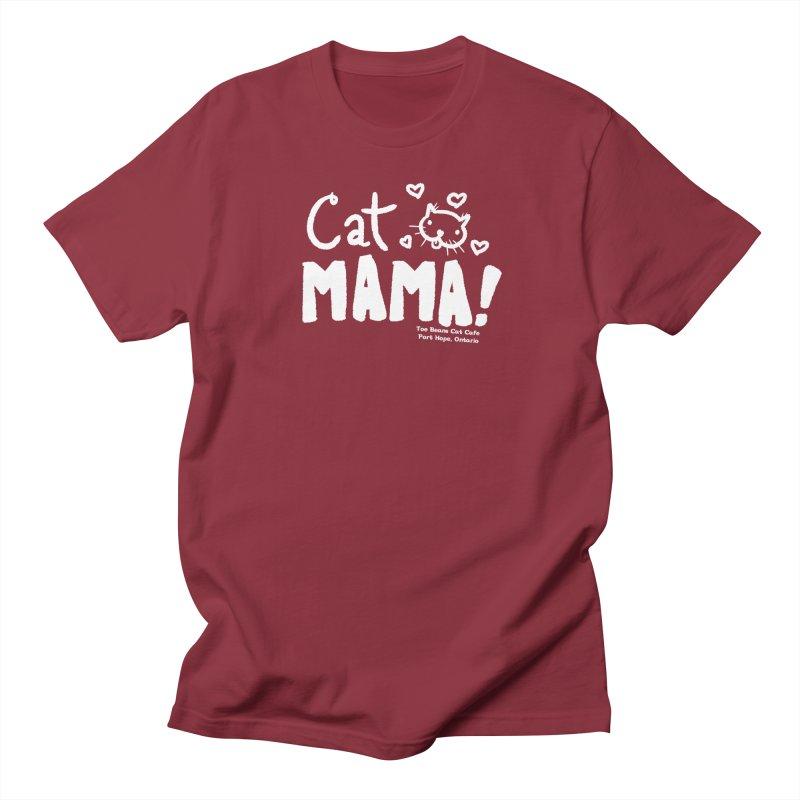 Cat Mama! Men's T-Shirt by Toe Beans Cat Cafe Online Shop