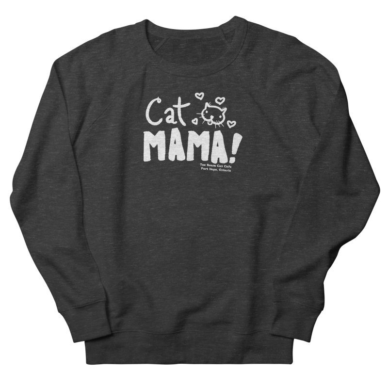 Cat Mama! Men's Sweatshirt by Toe Beans Cat Cafe Online Shop