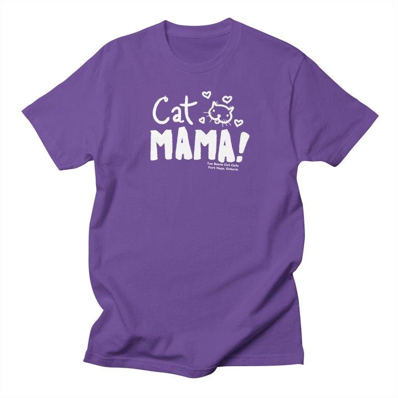 Cat Mama! Women's Regular Unisex T-Shirt by Toe Beans Cat Cafe Online Shop