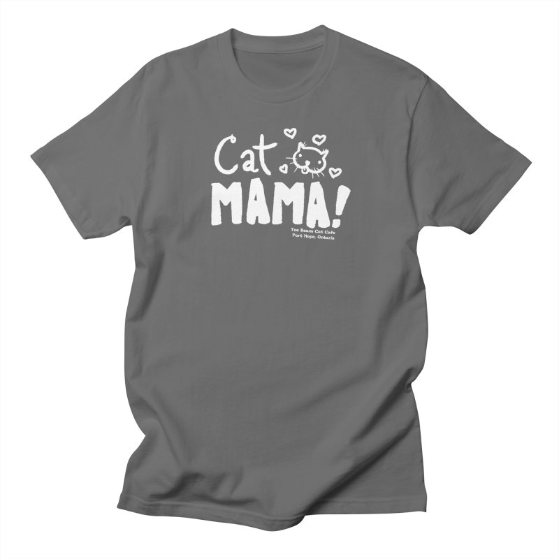 Cat Mama! Men's T-Shirt by Toe Beans Cat Cafe Online Shop
