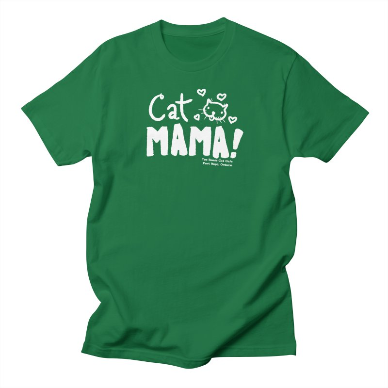 Cat Mama! Women's Regular Unisex T-Shirt by Toe Beans Cat Cafe Online Shop