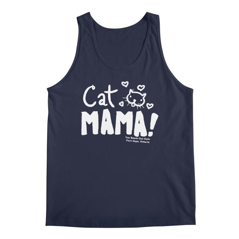 Cat Mama! Men's Regular Tank by Toe Beans Cat Cafe Online Shop