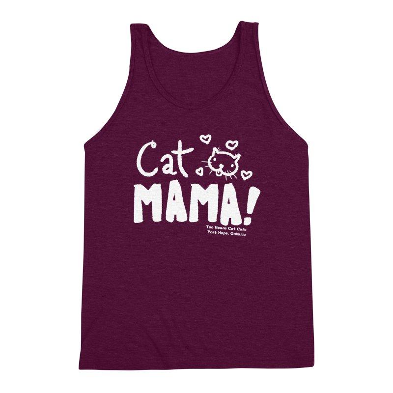 Cat Mama! Men's Triblend Tank by Toe Beans Cat Cafe Online Shop
