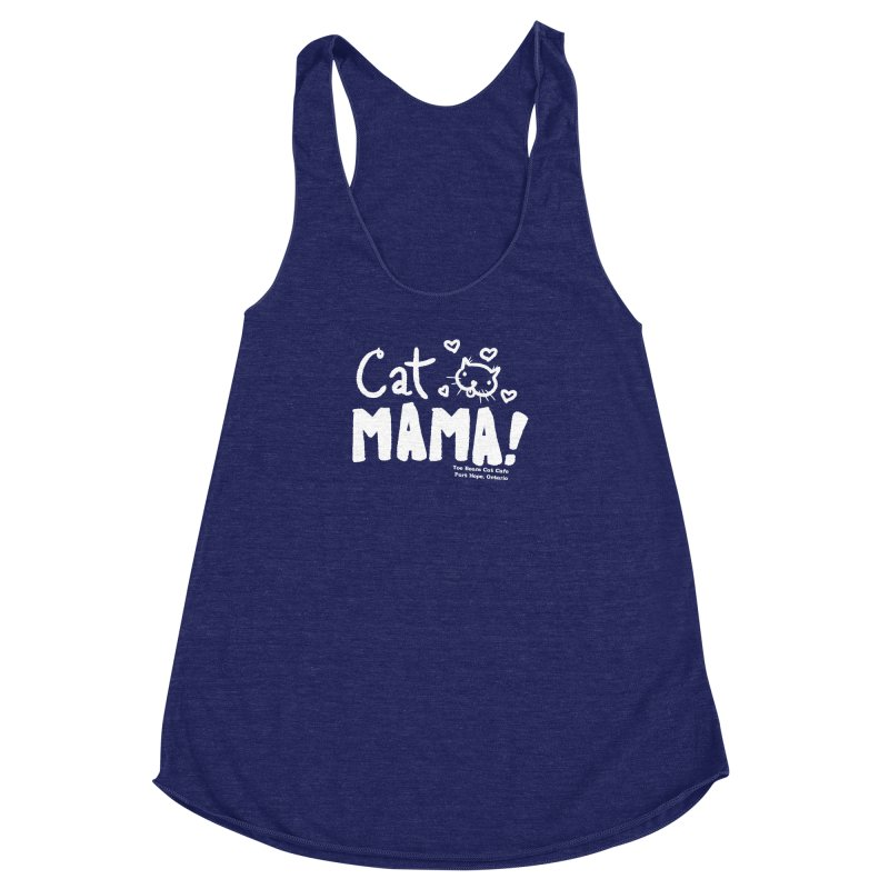 Cat Mama! Women's Tank by Toe Beans Cat Cafe Online Shop