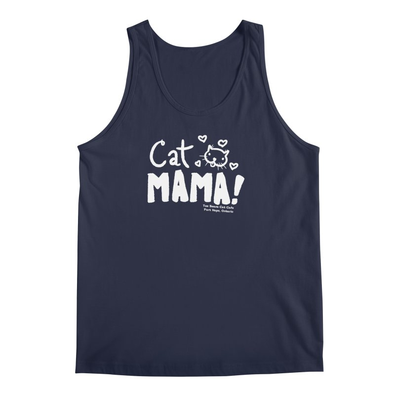 Cat Mama! Men's Regular Tank by Toe Beans Cat Cafe Online Shop