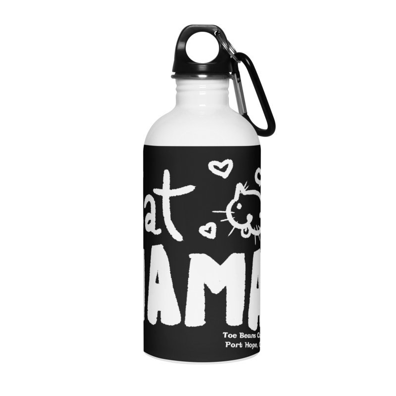 Cat Mama! Accessories Water Bottle by Toe Beans Cat Cafe Online Shop