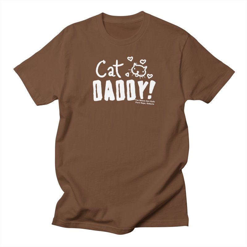 Cat Daddy! Men's T-Shirt by Toe Beans Cat Cafe Online Shop