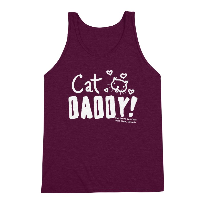 Cat Daddy! Men's Triblend Tank by Toe Beans Cat Cafe Online Shop