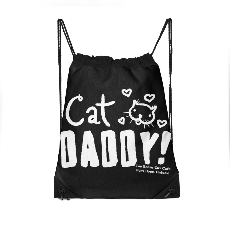 Cat Daddy! Accessories Drawstring Bag Bag by Toe Beans Cat Cafe Online Shop