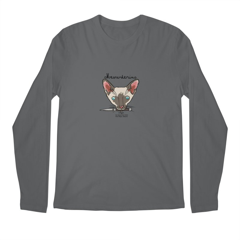 Meowderino - MFM Fan Men's Longsleeve T-Shirt by Toe Beans Cat Cafe Online Shop