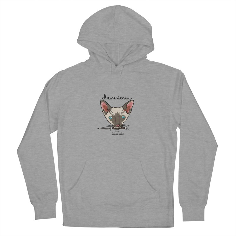 Meowderino - MFM Fan Men's French Terry Pullover Hoody by Toe Beans Cat Cafe Online Shop