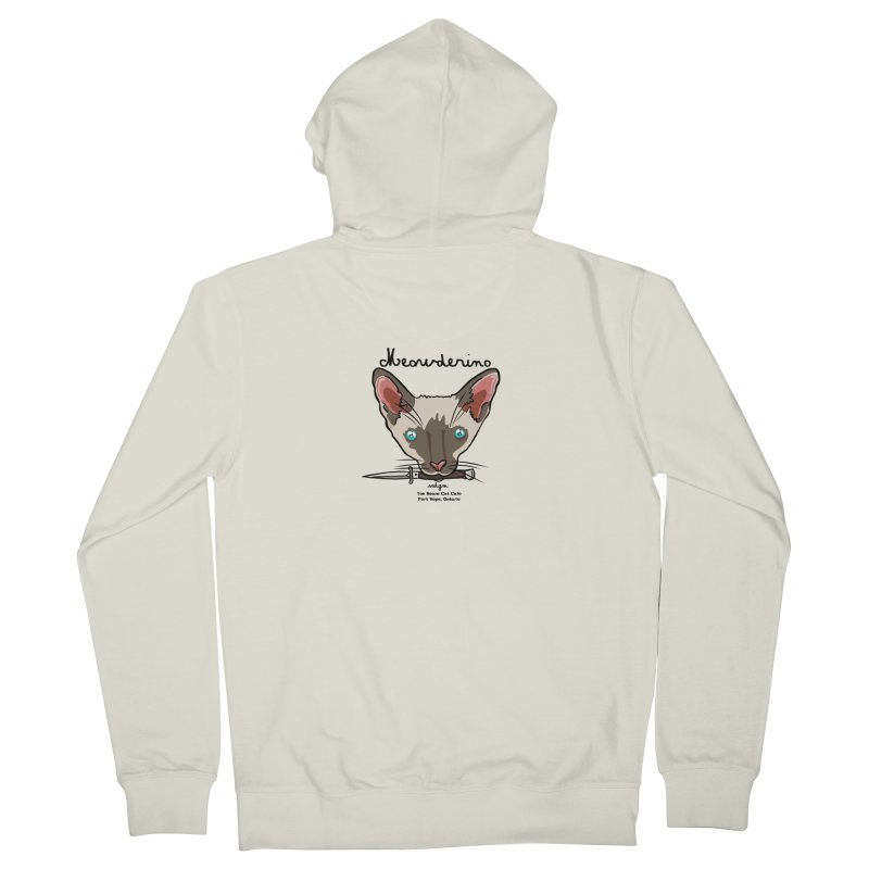 Meowderino - MFM Fan Men's Zip-Up Hoody by Toe Beans Cat Cafe Online Shop