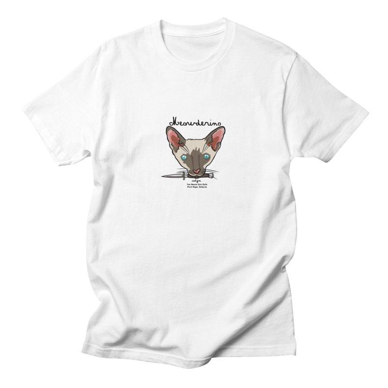 Meowderino - MFM Fan Men's Regular T-Shirt by Toe Beans Cat Cafe Online Shop