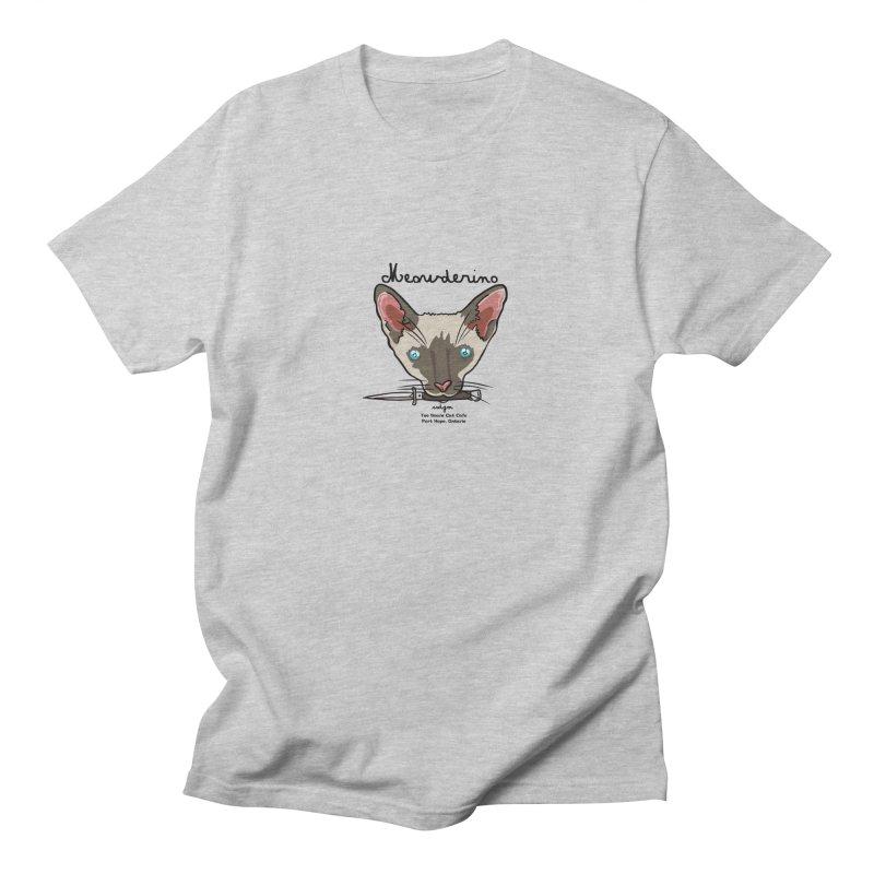 Meowderino - MFM Fan Women's Regular Unisex T-Shirt by Toe Beans Cat Cafe Online Shop