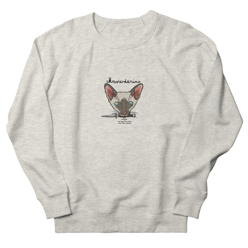 Meowderino - MFM Fan Men's French Terry Sweatshirt by Toe Beans Cat Cafe Online Shop