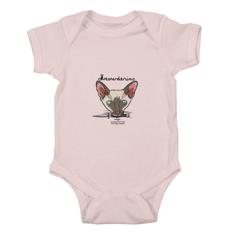 Meowderino - MFM Fan Kids Baby Bodysuit by Toe Beans Cat Cafe Online Shop