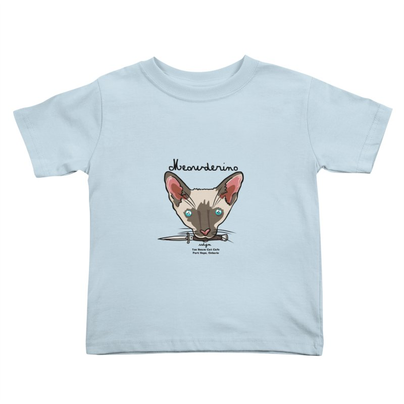 Meowderino - MFM Fan Kids Toddler T-Shirt by Toe Beans Cat Cafe Online Shop