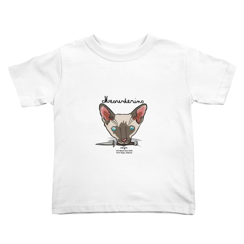 Meowderino - MFM Fan Kids Toddler T-Shirt by Toe Beans Cat Cafe Online Shop