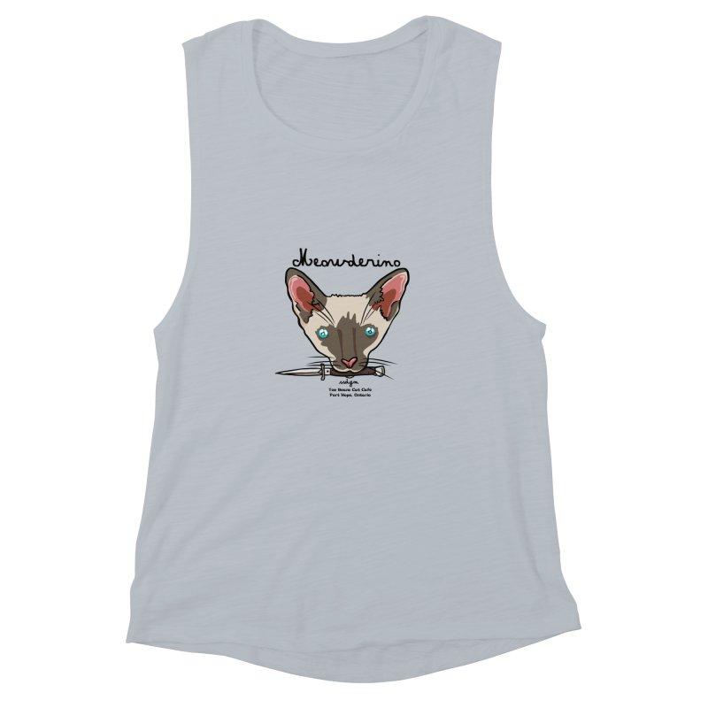 Meowderino - MFM Fan Women's Muscle Tank by Toe Beans Cat Cafe Online Shop