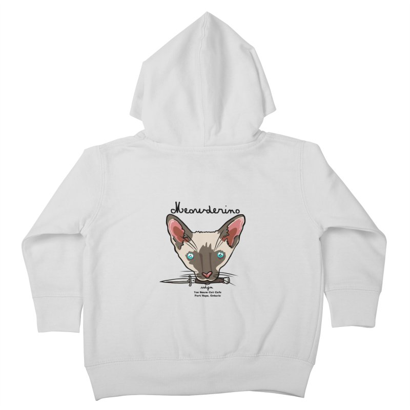 Meowderino - MFM Fan Kids Toddler Zip-Up Hoody by Toe Beans Cat Cafe Online Shop
