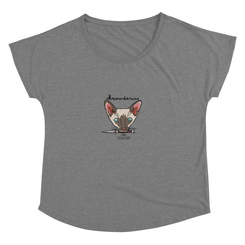 Meowderino - MFM Fan Women's Scoop Neck by Toe Beans Cat Cafe Online Shop