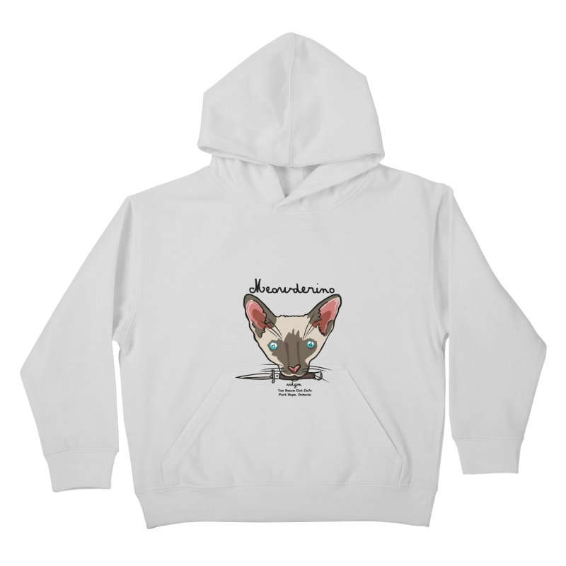 Meowderino - MFM Fan Kids Pullover Hoody by Toe Beans Cat Cafe Online Shop