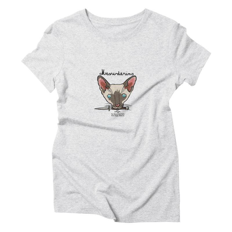 Meowderino - MFM Fan Women's T-Shirt by Toe Beans Cat Cafe Online Shop