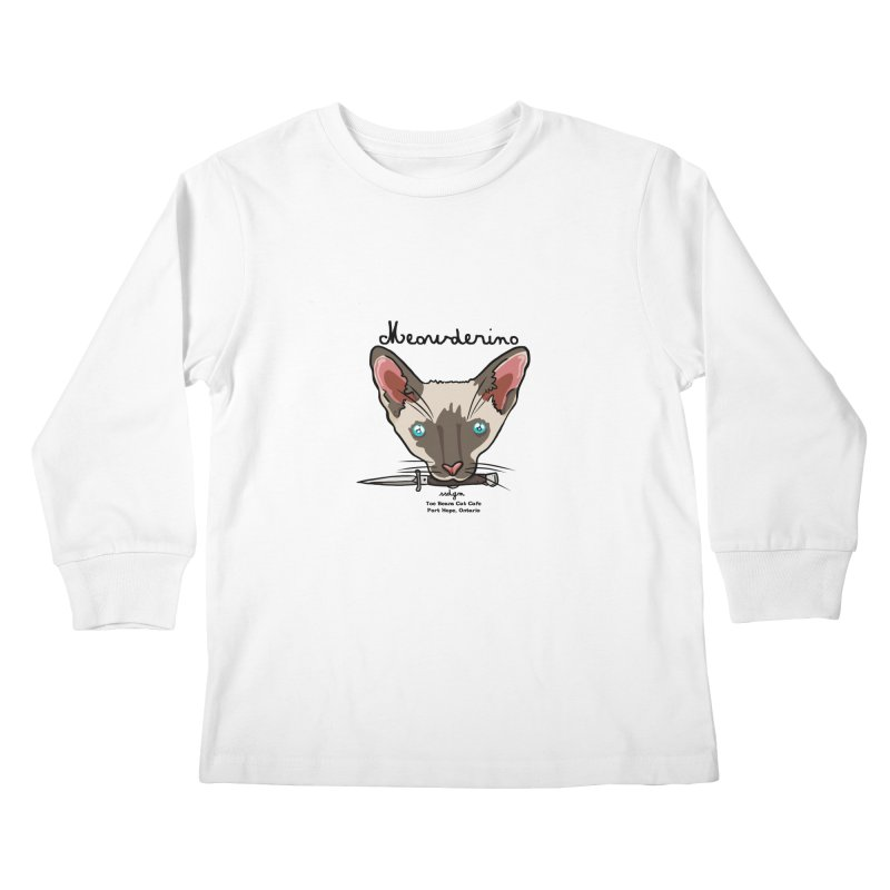 Meowderino - MFM Fan Kids Longsleeve T-Shirt by Toe Beans Cat Cafe Online Shop