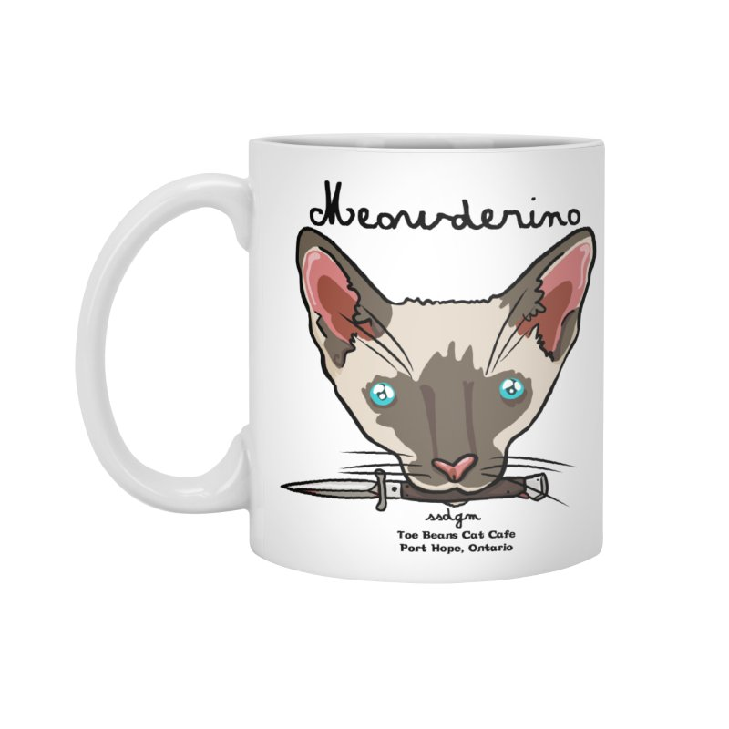 Meowderino - MFM Fan Accessories Standard Mug by Toe Beans Cat Cafe Online Shop
