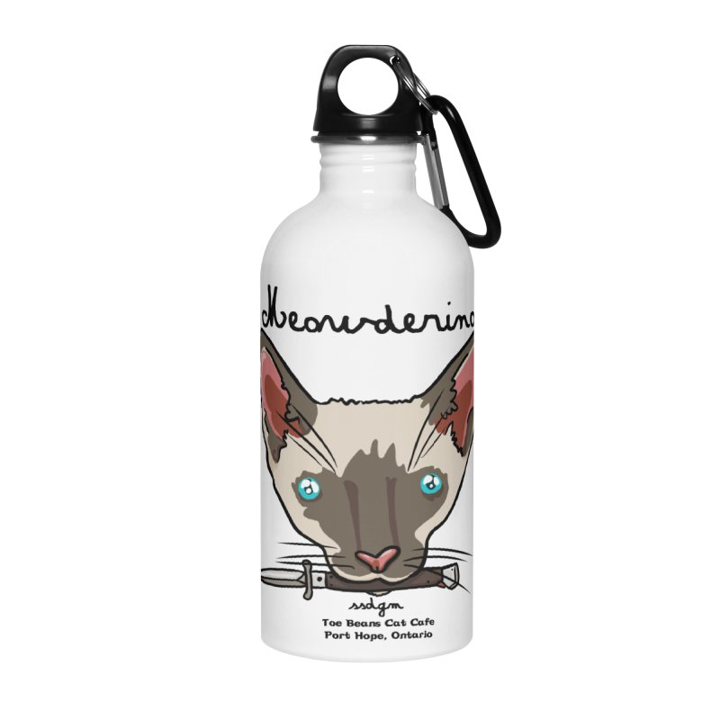 Meowderino - MFM Fan Accessories Water Bottle by Toe Beans Cat Cafe Online Shop