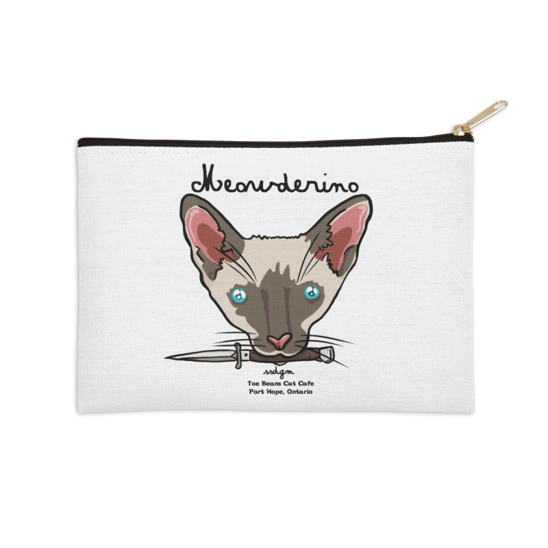 Meowderino - MFM Fan Accessories Zip Pouch by Toe Beans Cat Cafe Online Shop